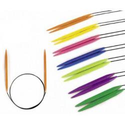 Acryl Rundpinde i farver